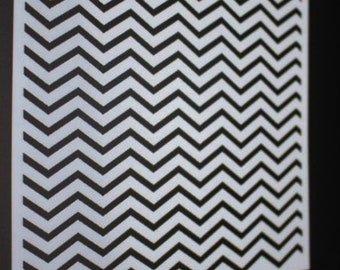 Chevron Stencil Mat, Cake Royal Icing, Cake Stencil, Buttercream, Frosting, Sugarcraft, DIY, ST0035