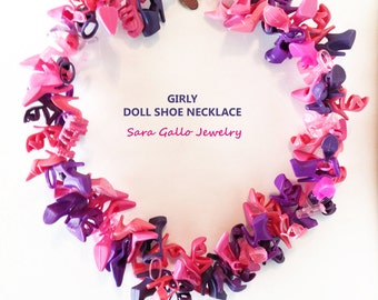 Girly Doll Shoe Necklace(c) by Sara Gallo