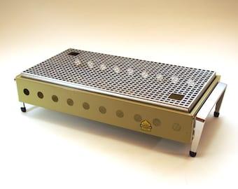 Vintage 70s Food Warmer - Dutch Brabantia Double Warming Tray - Rechaud heater