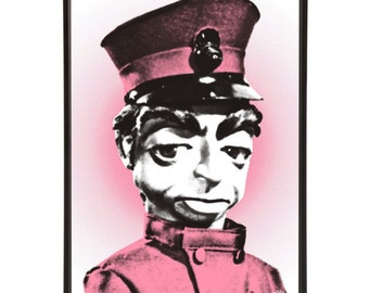 Parker Pop Art Print -  Lady Penelope's Butler from Thunderbirds the iconic Gerry Anderson Supermarionation cult TV show