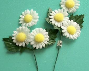 Vintage Daisy Picks Floral Millinery NOS