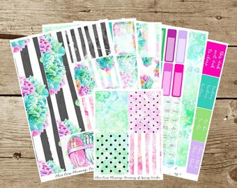 Dreaming of Spring Weekly Kit (for use in Erin Condren)