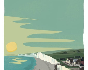 Birling Gap, South Downs National Park