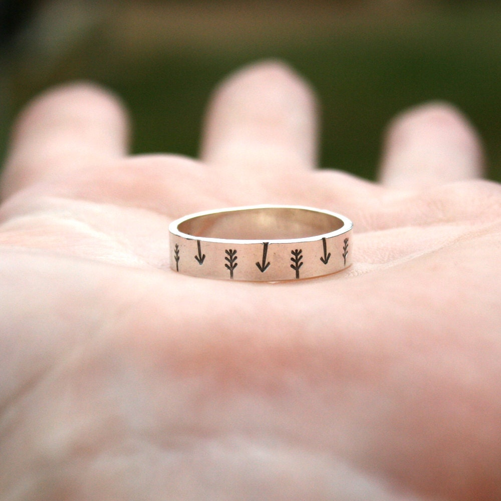 Personalized Jewelry Custom Sterling Silver Ring Tribal