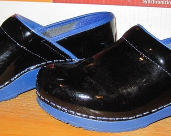Women's Ladies SANITA GLOGS The Original Danish Clogs Shoes Sz 37 Hardly Worn