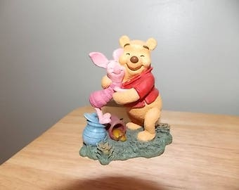 Simply Pooh Collection- Piglet and Pooh figurine Hugs are Better Than Honey Disney