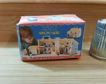 T-16     miniature toy house box   for Barbie, dollhouses and collectors