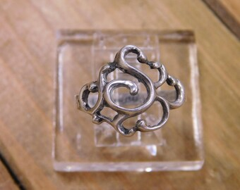Sterling Silver Ring Size 8.5
