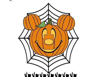 Custom Pumpkin Mouse Name PM1-Digital ClipArt-T Shirt-Art Clip-Party-Name Tag-Notebook-Jewelry-Scrapbook-banner-background-gift card.