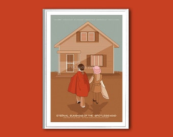 Eternal Sunshine of the Spotless Mind poster print in various sizes