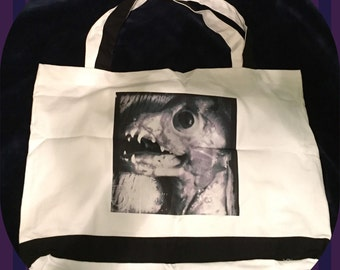 Creepy Creature Tote Bag