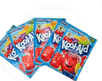 Unsweetened Kool Aid for Dyeing or Hand-painting Yarn and Animal Fiber, Easy, Non-Toxic Dye, Various Colors