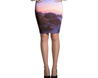 Skirt Azul Carricitos