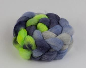 BFL Wool Roving - Handdyed - 4 oz