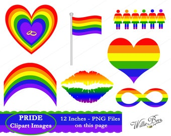LGBT PNG, Gay Pride Clipart, Transgender, Lesbian Clipart, Gay Clipart, Rainbow Gay, Pride Parade, Gay Quote, Gay Flag, Instant Download