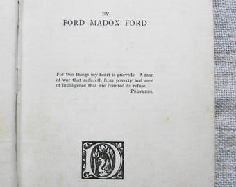Ford Madox Ford: No More Parades - First edition.