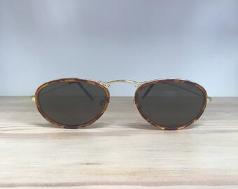 Vintage sunglasses men Tortoise
