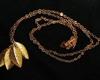 14k Gold/Rose Gold Fill Chain Gold Plated Leaves