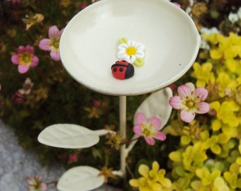 Fairy Garden Bird Bath Miniature Garden