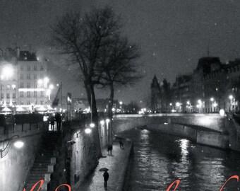 "Fine art photo ""Paris under the rain"""