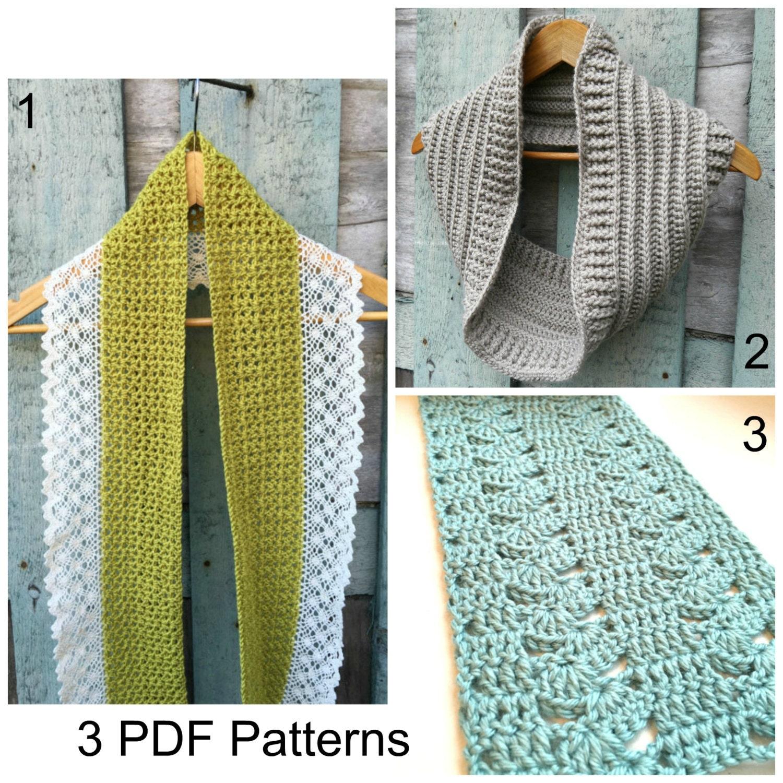 Free crochet pattern Free crochet scarf pattern Crochet