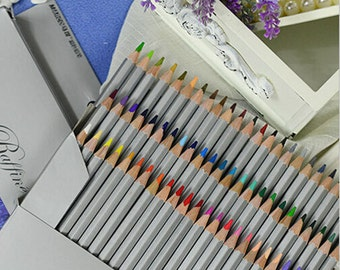 Colored Pencil High Quality 72, 48, 36, 24 Assorted color Fine Art Drawing pencil Artist Sketching Color Pencil Pack http://1supply.etsy.com