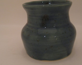 Small Wheel Thrown Pottery Vase
