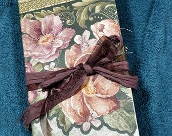 Handmade journal, art journal, prayer journal, junk journal, handmade book