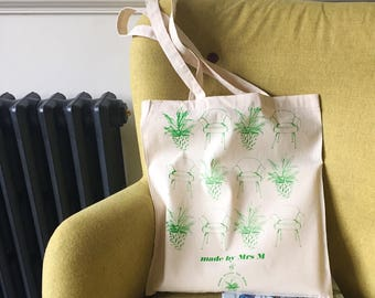 Plant ChairTote Bag