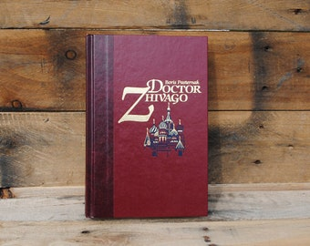 Hollow Book Safe - Doctor Zhivago - Hollow Secret Book Safe