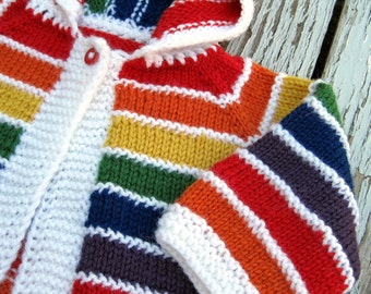 SALE 50% OFF Rainbow Baby Sweater