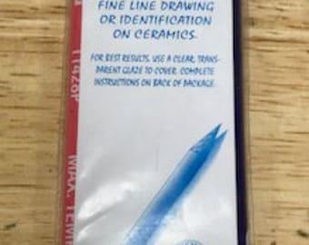 Underglaze Decorating Pencil Set of 6 Colors