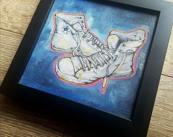 Old Faithful - Beat Up Converse All Star - limited graphic giclee art print