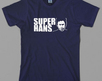 Super Hans T Shirt  - peep show, tv series, mark, jeremy, jaz, british, funny - All sizes & colors available