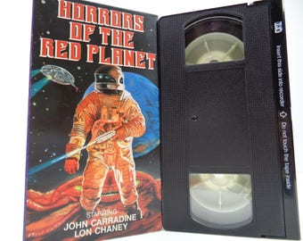 Horrors of the red planet VHS Tape