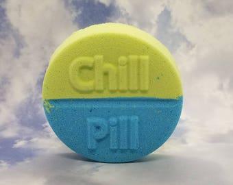 Chill Pill Bath Bomb   Handmade Bath Fizzer   iBeautyGifts