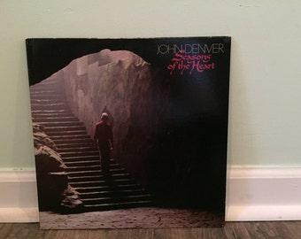 """John Denver """"Seasons of the Heart"""" vinyl record"""