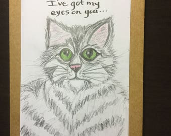 Cat eyes on you