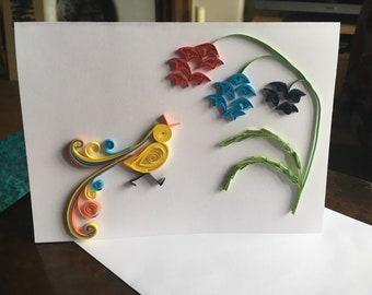Paradise Bird Greetings Card