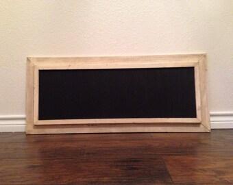 Rustic Reclaimed Frame Chalkboard