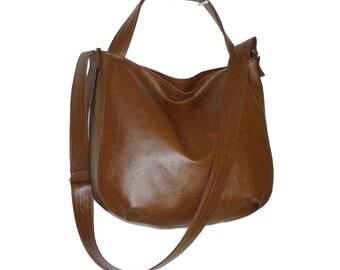 brown vegan crossbody bag, dark brown leather crossbody bag, brown vegan bag, dark brown crossbody bag, brown leather bag, brown purse