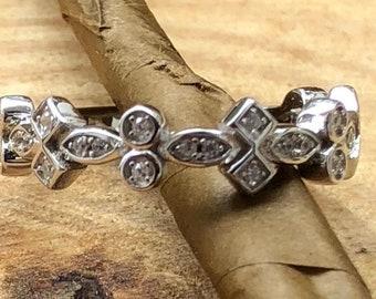 Sterling Silver Elegant CZ Ring
