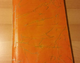 Journal orange LINED