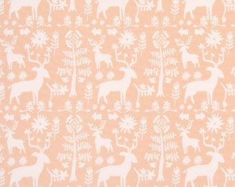 "Premier Prints Fabric-PROMISE LAND-Sundown-Peach-Green-54"" wide-Premier Prints Fabric By The yard-decorator fabric"