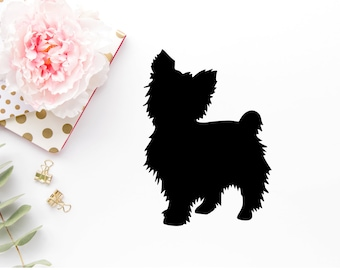 Yorkie svg - Yorkie SVGs - Yorkie Dxf - Yorkie png -Yorkshire Terrier Dog - I Love My Yorkie
