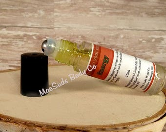 Energy Boost Essential Oil Blend Roll-On Bottle
