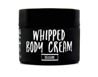 Bloom Whipped Body Cream 4oz - Whipped Body Lotion - Body Butter - Body Care - Skin Care - Beauty Products - Shea Butter