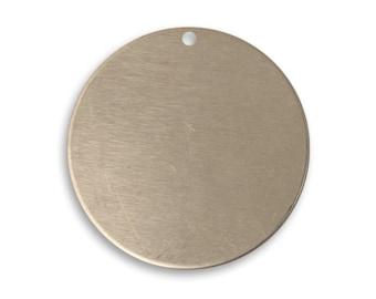 Vintaj 25mm Circle - Artisan Pewter - SALE