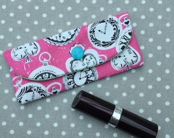 Lipstick Lip Balm Holder Pouch Cosmetics Bag