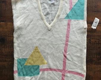 Vintage 80s NWT tunic